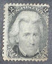 Travelstamps: 1861-66 US 2c Stamp Scott #73 Mint unused no gum Jackson 2 cents