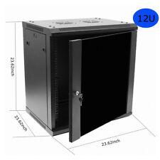 12U Network Cabinets Network Server Cabinet Rack Enclosure meshed Door Lock