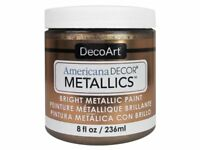 Americana Decor ADMTL08-36 Metallics Craft Paint, Antique Bronze, 8 Oz