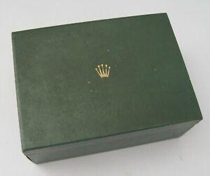 RARE Vintage 60's ROLEX Watch Presentation Box, Ref. 06.00.06 Fair Condition