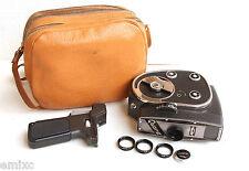 *1964* ● KMZ QUARZ 1 Jupiter-24 f1.9  Movie '2 x 8' ● Filters, Case, Handle