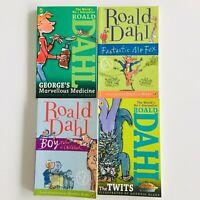 ROALD DAHL children's books set of 4 (paperback) FREE AU SHIPPING