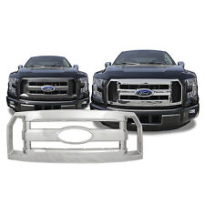 FREE SHIPPING: 2015-2017 Ford F150 XL Chrome Snap On Grille Overlay #137