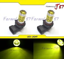 LED 50W 9005 HB3 Yellow 3000K Two Bulb Light DRL Daytime Replacement Lamp Rally