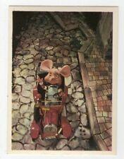 figurina TOPO GIGIO ALBI PER LA GIOVENTU' 1975 EDIZIONI PEREGO IMPERIA numero 44