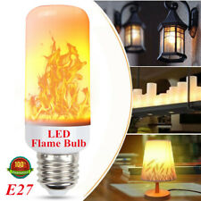 LED Flame Effect Fire Light Bulb Flickering Lamp Simulated Decorative Wholesale