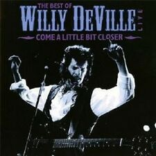 """Willy DeVille """"The Best of Willy DeVille LIVE"""" CD NUOVO"""