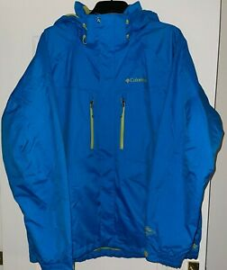 'Columbia' Gents Blue Fully Lined Winter Sportswear Jacket Size XL New No Tags