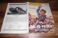 SOLDATENGESCHICHTEN 62 / 1959 -- SALVE - FEUER // Nordstaaten vs Südstaaten