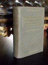 PRONTUARIO DELL'AGRICOLTORE e INGEGNERE AGRARIO Manuale Hoepli LIBRO 1939