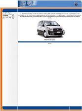 manuel atelier entretien réparation technique Fiat Nuovo Scudo - Fr