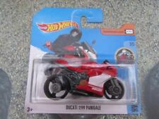 Hot Wheels 2017 #085/365 DUCATI 1199 PANIGALE red HW Moto