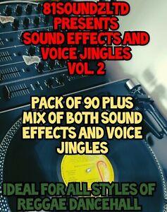 81 Soundz Reggae Sound Effects VOL. 2 *delivered via email*