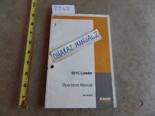 CASE 921C Loader Operator's Manual  6-6221