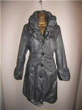 M&S Marks and Spencer Per Una Light Padded Grey Coat Jacket size 10
