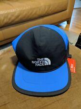THE NORTH FACE Blue/Black GORE-TEX Mountain Baseball Cap Adjustable Hat L/XL NEW