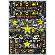 BLACKBIRD RACING Set zelfklevende decoratieve stickers Rockstar Energy 5076L