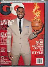 GQ MAGAZINE March 2014 3/14 LeBRON JAMES SEALED NEW D-3-1