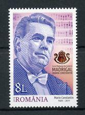 Roumanie 2018 neuf sans charnière Madrigal Choir 55 ans MARIN CONSTANTIN 1 V Set musique timbres