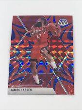 New ListingJames Harden 2019-20 Panini Mosaic Blue Reactive Prizm Sp #114 Houston Rockets