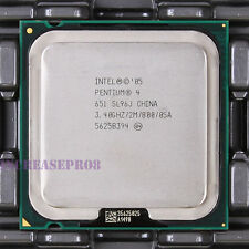 Intel Pentium 4 651 SL9KE SL96J CPU Processor 800 MHz 3.4 GHz LGA 775/Socket T