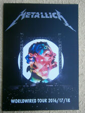 metallica paris france programme book