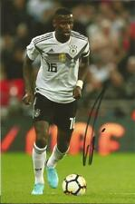 GERMANY: ANTONIO RUDIGER SIGNED 6x4 ACTION PHOTO+COA