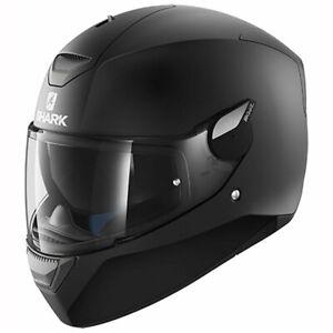 Shark D-Skwal Helmet Blank Mat KMA - Matt Black