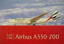 Herpa Wings 1:500 Airbus a330-200 Emirates a6-eas 514132-001 modellairport500