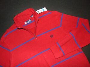 NWT, Men's Chaps Ralph Lauren 1/4 Zip Pullover Sweatshirt - Size XL ~ NEW