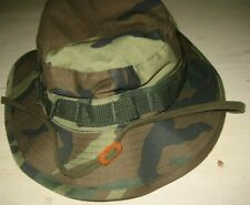 NEW Adult Sz 7 1/2 CAMO BUCKET HAT Boonie HUNTING FISHING Camouflage Cotton