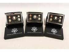 (3) U.S. Mint Premier Silver Proof Sets Lot 527