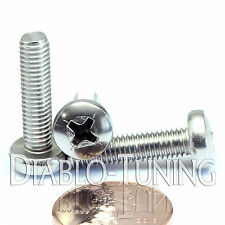 M5 x 20mm - Qty 10 - Stainless Steel Phillips Pan Head Machine Screws DIN 7985 A