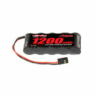 Venom 6V/6.0V 1200mAh 5-Cell Flat Receiver RC NiMH Battery Pack 1500