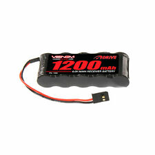 Venom 6V/6.0V 1200mAh 5-Cell Flat Receiver RC NiMH Battery Pack 1500