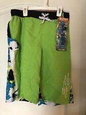Zero Xposur Boy's/ Youth Surf Shorts W/ Swim Goggles XL 18/20 Swim Trunks