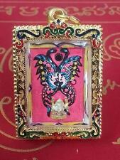 Kruba Krissana King Of Butterfly With Phra Phrom & Phra Pikaned-Year 2555