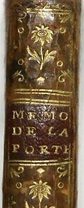 ÉDITION ORIGINALE 1755 Mémoires de M. de LA PORTE 1er Valet Chambre LOUIS XIV