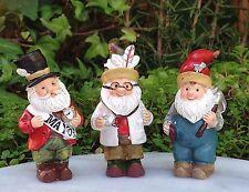 Miniature Dollhouse Fairy Garden ~ Woodland Gnome Set 3 ~ Mayor Doctor Carpenter