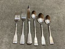 Oneida American Colonial Stainless Cube Satin Flatware Choice