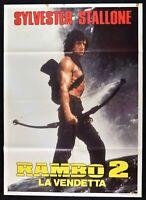 Poster Rambo 2 Die Rache Sylvester Stallone Richard Crenna M288