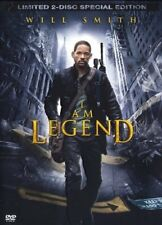 I Am Legend ( Horror-Sci-Fi 2 DVDs ) - Will Smith, Alice Braga, Willow Smith NEU