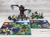 Lego Monster Fighters Bundle ~ Set 9463/9461 ~ The Werewolf/Swamp Creature ~ (3)