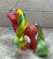 G1 Style Artistry Girl Pretty Mane - Custom Pony Hqg1c - Rhythm