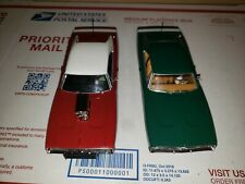 2 Scalextric Dodge Chargers