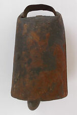 ANTIQUE IRON RATTLE/COW BELL