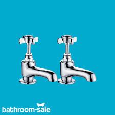 Royal Bensham Basin Pillar Chrome Bathroom Taps - Genuine   RRP: £119