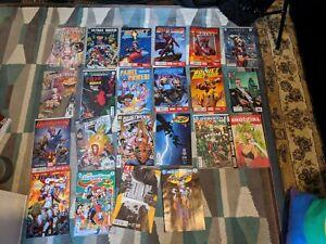 Comic Book Job Lot DC, Marvel Snotgirl Harley Quinn Gwenpool Guardians 22 comics