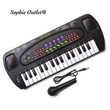 Teclado Electrónico Instrumento Musical Niños órgano Mic Micrófono + regalo de cumpleaños