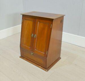 Vintage Mahogany Marconi Music Radio Storage Cabinet   |222